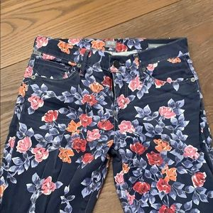 Citizens of Humanity floral print jeans